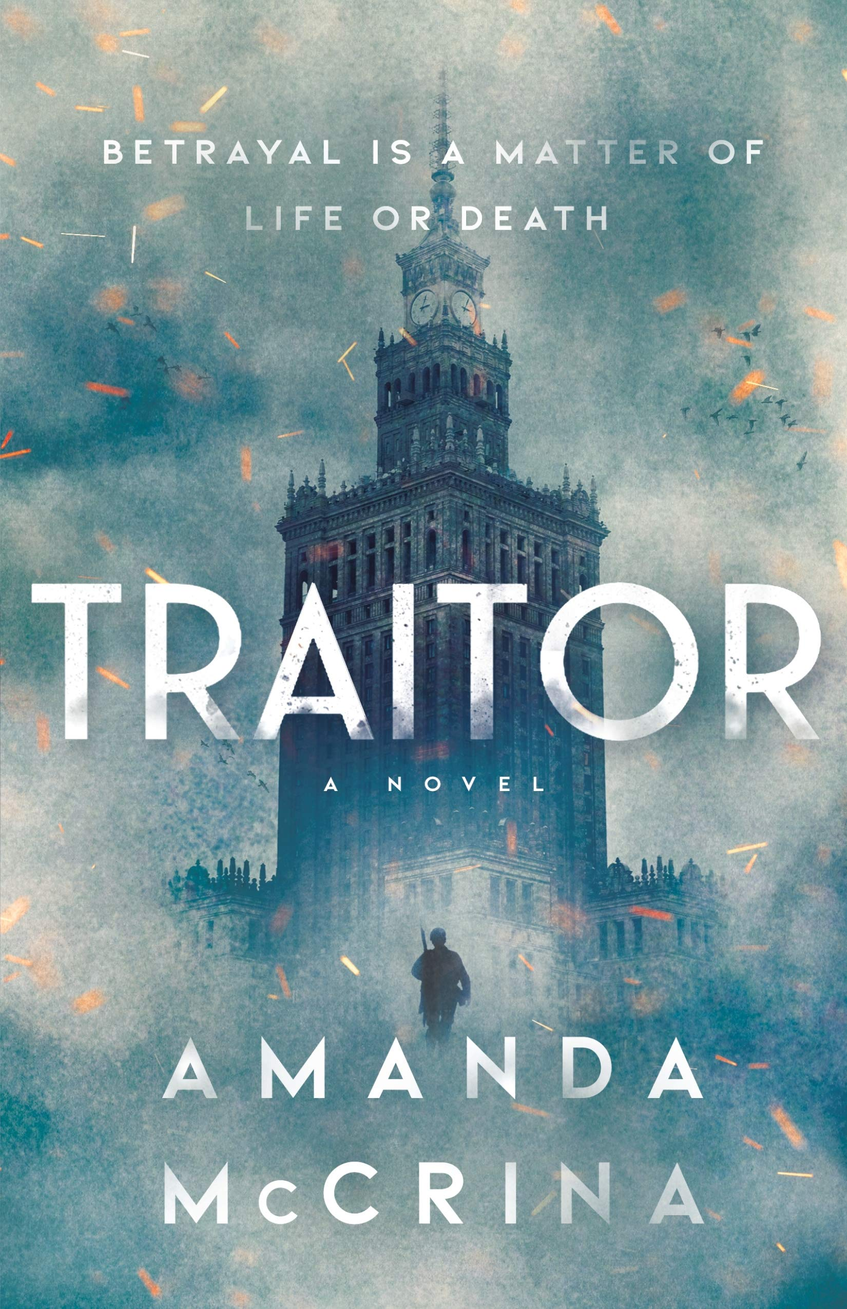 Traitor by Amanda McCrina